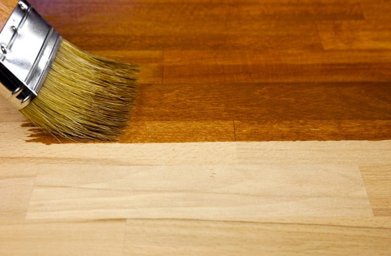 staining hardwood floors Brooklyn NY